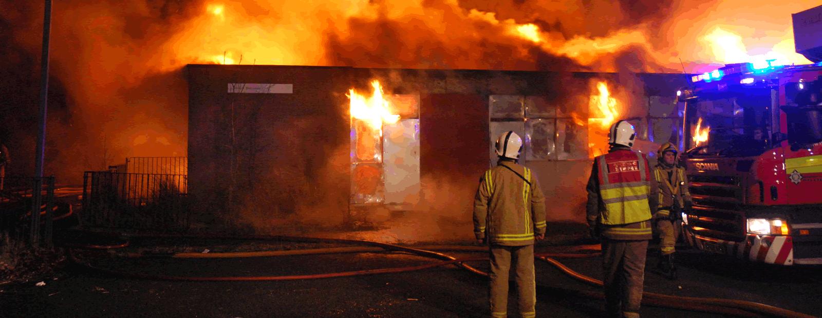 Lawton Fire slider